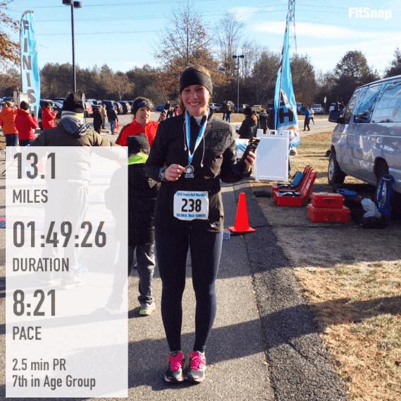Frosty Half Marathon – Thank you, Robert.